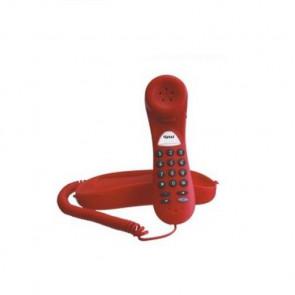 Tiptel 114 rouge Bureau/mural. monobloc. bis. renvoi d'appel derrière PABX.