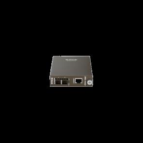 Convertisseur de média 1000Base-T vers multimode 1000Base-SX avec connecteur
