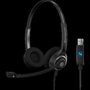 SC 260 USB / micro-casque filaire usb direct. double écouteur XXL. haute