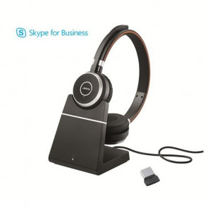 Jabra Evolve 65 MS Duo avec Base Chargeur avec dongle 370 USB