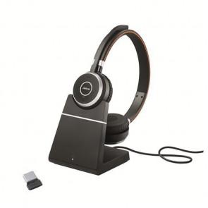 Jabra Evolve 65 UC Duo avec Base Chargeur avec dongle 370 USB