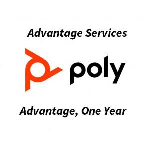 Polycom Advantage. One Year.