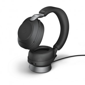 Jabra Evolve2 85. Link380a MS Stereo avec base chargeeur. Black