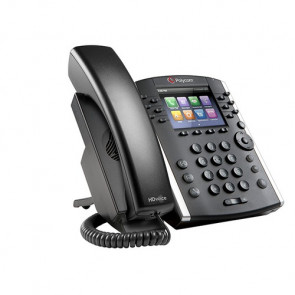 VVX 401 12-line Desktop Phone with HD Voice. Compatible Partner platforms: 20.