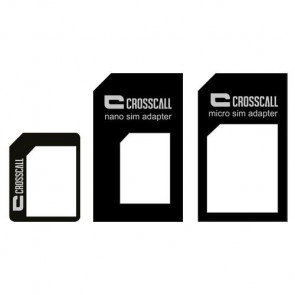 Crosscall SIM CARD ADAPTATOR - Kit d'adaptateurs de carte SIM