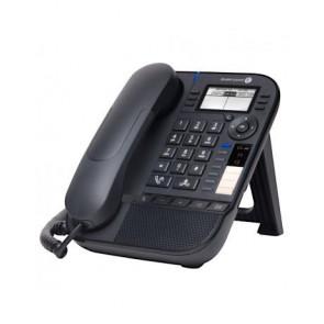 8008 DeskPhone d`entrée de gamme. 64x128 pixels. LCD noir et blanc. pas de