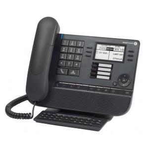 8028s FR Premium Deskphone gris lune. écran rétroéclairé Noir et Blanc. 2.8po.