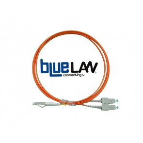 Jarretiere Optique 62,5/125 OM1 SC/LC Duplex 2m