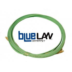 Jarretiere Optique 50/125 OM3 (compatible OM2) LC/LC Duplex 40m AQUA