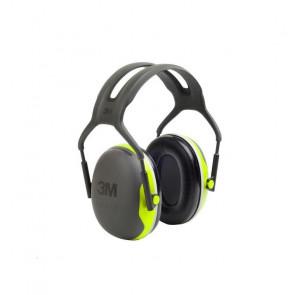 Casque antibruit Peltor X4 vert fluorescent X4-A  (le casque )