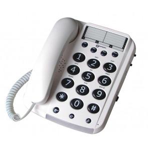 Téléphone Filaire DALLAS 10 BLANC