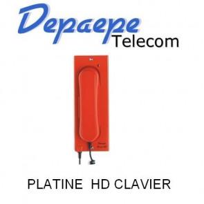 PLATINE HD CLAVIER 1 MEM ROUGE