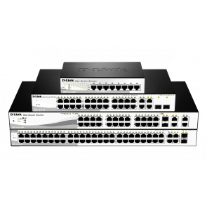 Smart+ 24 ports 10/100Mbps PoE/PoE+ + 2 ports Combo 1000BaseT/SFP + 2 ports