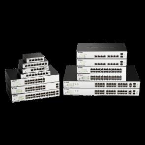 EasySmart 10-Port PoE/PoE+ Gigabit - Budget 130 watts - 2 ports SFP - 11''