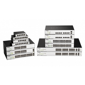 EasySmart 26-Port PoE/PoE+ Gigabit - Budget 370 watts - 2 ports combo/SFP -
