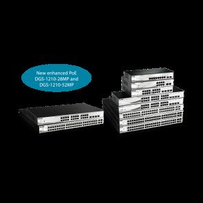 Smart 48 ports Gigabit PoE/PoE+   +  4 ports Combo 1000BaseT/SFP - Budget PoE
