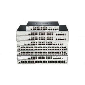 SmartPro 24 ports Gigabit PoE + 4 ports 10 Giga SFP+ - Budget PoE 370w - Switch