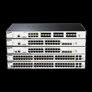 xStack3120-24PC - 24 ports Gigabit PoE+ dont 4 ports combo mini-GBIC/1000Base-T