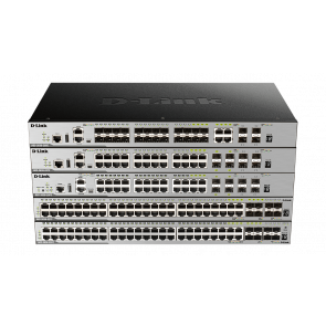 xStack3630-52PC - 48 ports Gigabit PoE/PoE+ dont 4 ports Combo 1000Base-T/SFP &