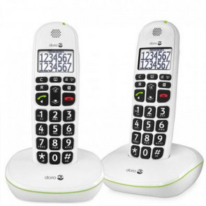 Doro PhoneEasy 110 duo Blanc