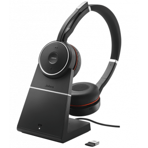 Jabra Evolve 75 MS Duo avec Base Chargeur avec dongle 370 USB