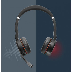 Jabra Evolve 75 MS Duo avec dongle 370 USB