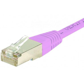 Cordon RJ45 Cat.6a S/FTP 3M Rose PVC