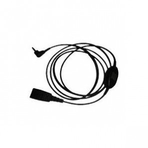Câble QD Cord avec PTT 2.5mm goldpl.tip: m+. ring: r (Polycom KIRK)