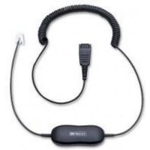 GN1216 pour Avaya 0.8m Câble ETIRO QD -> RJ9 (Pour téléphone Avaya serie 96xx.