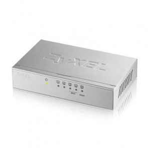 Switch Non-Administrable 5 ports Gbps - alimentation externe - boîtier métal