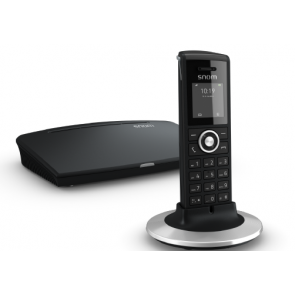 Snom M325 DECT Bundle Single-cell M300 base station + M25 handset package Up to