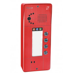 PORTIER SECURACCESS PMR IP CAM 8BT ROUGE