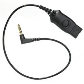 Cordon MO300 Nokia N5 3.5mm / Quick Disconnect (E75. N76. N78. N79. N81. N82.