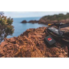 adaptateur secteur-Li-Ion - 3350 mAh - 2.1 A - 2 connecteurs USB - noir