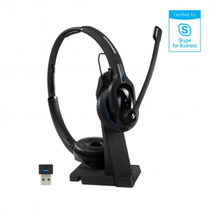 MB PRO 2 UC ML / micro-casque Bluetooth binaural avec support de charge USB et
