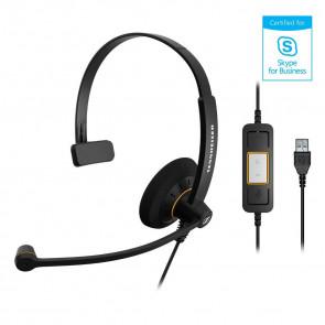 SC 30 USB ML / micro-casque filaire USB. gestion des appels via télécommandes