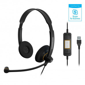 SC 60 USB ML / micro-casque filaire USB. gestion des appels via télécommandes