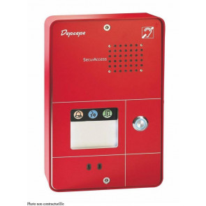 PORTIER SECURACCESS PMR COMPACT 1BT ROUGE