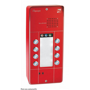 PORTIER SECURACCESS PMR 3BT ROUGE