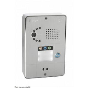 PORTIER SECURACCESS PMR IP CAM COMPACT 1BT ALU
