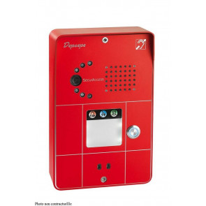 PORTIER SECURACCESS PMR IP CAM COMPACT 1BT ROUGE