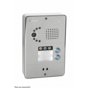 PORTIER SECURACCESS PMR IP CAM COMPACT 3BT ALU