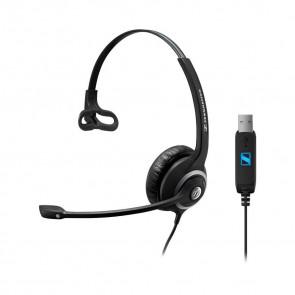 SC 230 USB / micro-casque filaire usb direct. mono écouteur XXL. haute