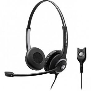 SC 262 / micro-casque filaire basse impédance. double écouteur XXL. haute