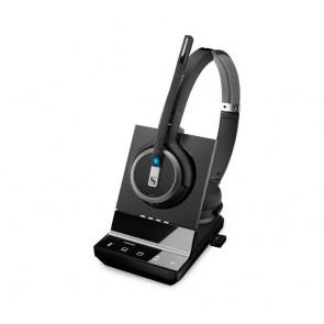 SDW 5066 / micro casque sans fil binaural DECT + Dongle Bluetooth : Tel fixe. PC