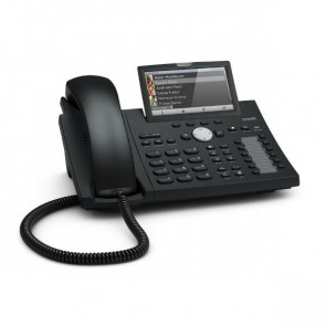Snom D375 io Desk Telephone 4.3'' Tiltable high-resolution color display Gigabit