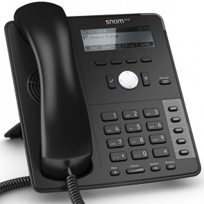 Snom D715 Global 700 Desk Telephones Black Display with backlight Gigabit switch