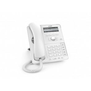 Snom D715 Blanc Global 700 Desk Telephones Black Display with backlight Gigabit