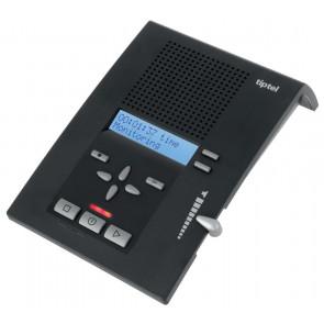 tiptel 333 / 90 min. 4 annonces. écran 2 lignes. qualité audio. notification