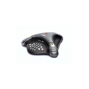 VoiceStation 300 analog conference phone for small rooms and offices.  Country